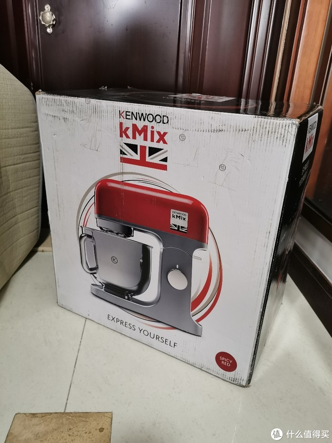Kenwood 凯伍德 KMX750RD开箱