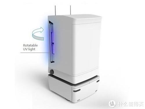 杀病毒、还能测温和送餐:msi 微星 发布 AI-UVC 智能杀毒机器人