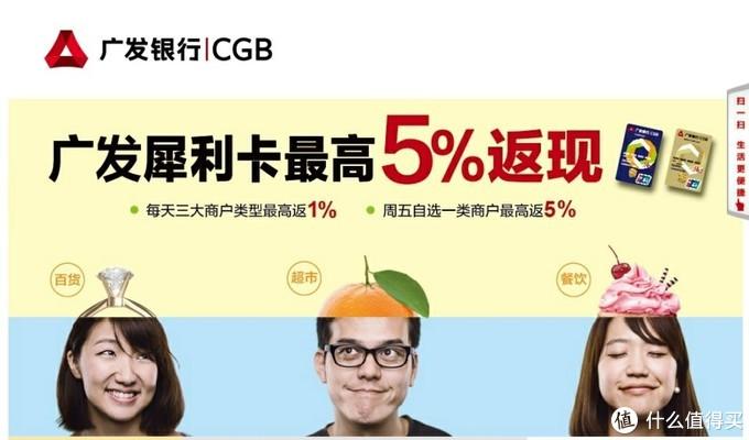 广发信用卡首卡推荐——犀利信用卡