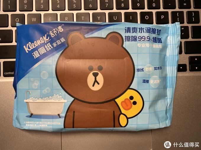 舒洁湿厕纸(很可爱的小熊哟)