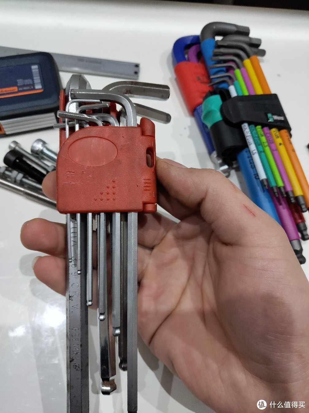 工作自用内六角扳手9支装 价格0元