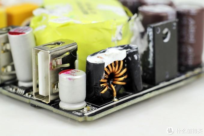 拆解报告:MI小米65W 2A1C三口快充充电器AD653