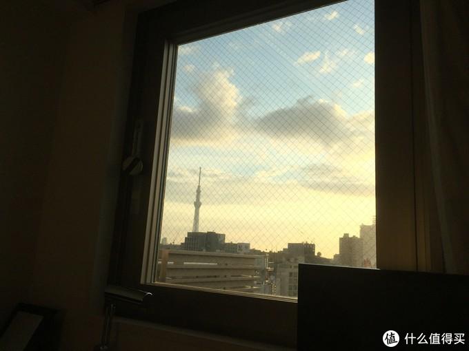 出门前看一眼晴空塔