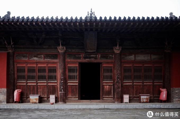 元代广济寺 建筑很多细节都很有看点 比如屋角的力士