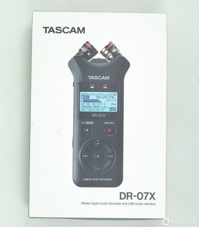 TASCAMDR-07X 便携数码录音机录音笔评测