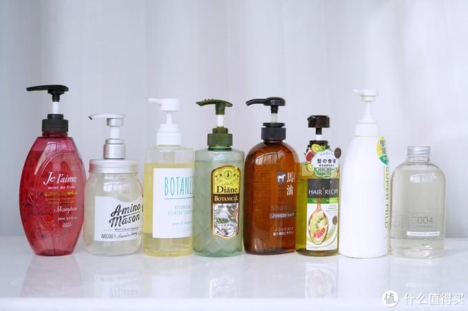 2020从头开始——八款高口碑日系无硅油洗发水横评
