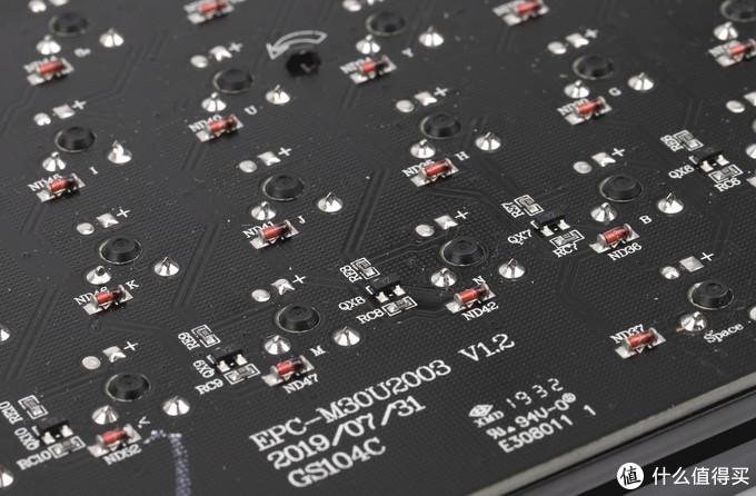 300内PBT樱桃轴用料靠谱么,GANSS GS87C拆解