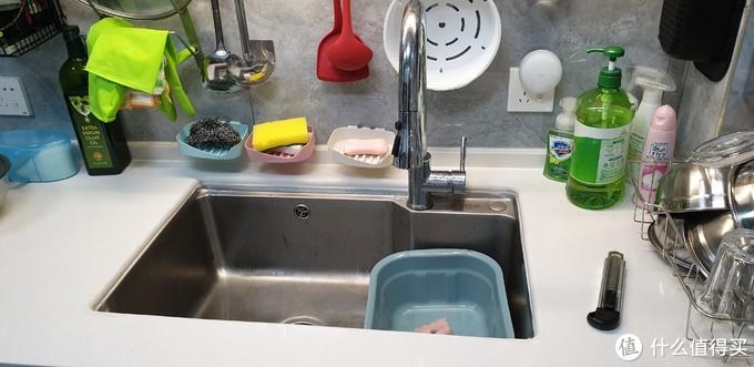 大单槽配一个小盆使用秒变双槽