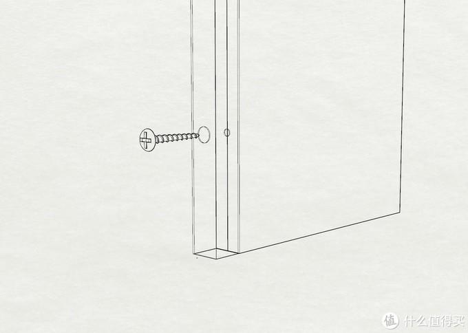 方管和侧板固定节点图
