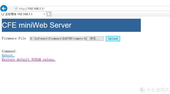 MINI WEB界面