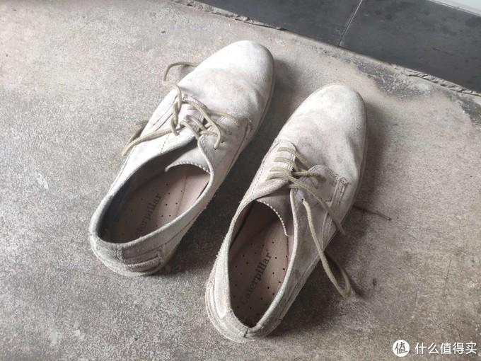 张大妈上29块钱反绒牛皮鞋晒单分享