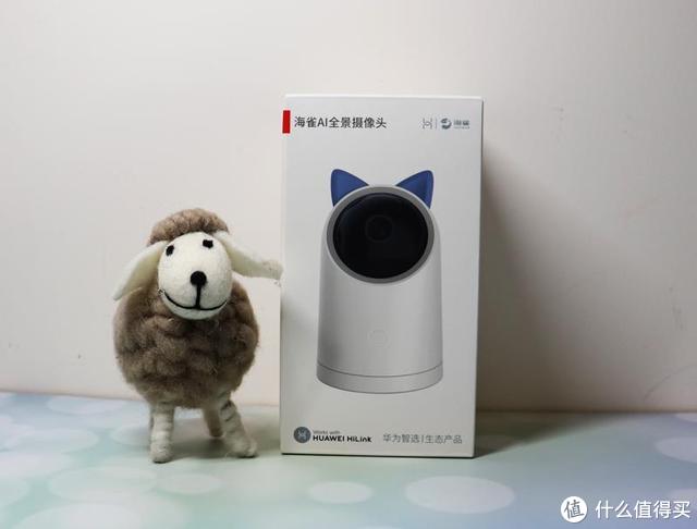 家中有宝宝可以装一个远程保护摄像头-华为海雀AI全景摄像头