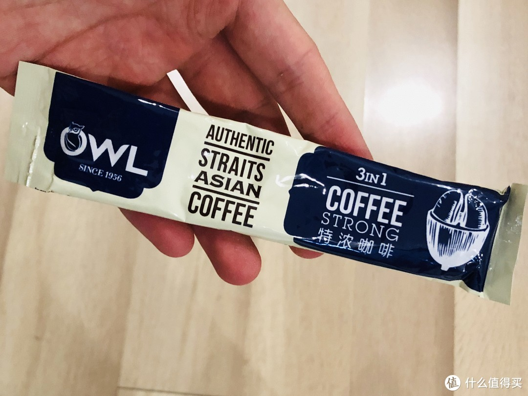 宅家消遣好饮品—产自马来西亚的owl猫头鹰咖啡特浓三合一速溶咖啡(100条礼盒装)