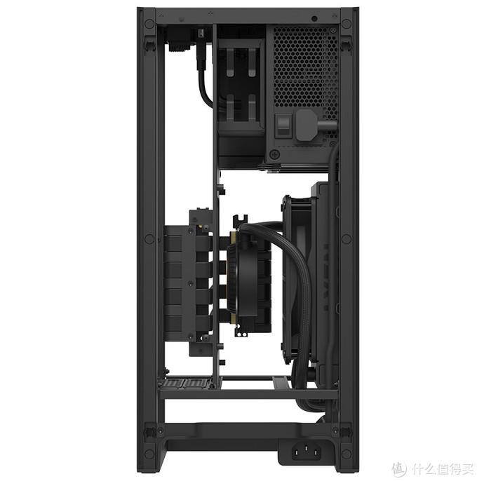 双仓结构、集成水冷和电源:NZXT.恩杰 发布 H1 ITX准系统 和 BLD H1 Mini主机