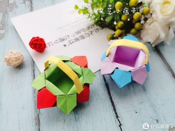 萌趣的小花篮可爱至极,快和孩子们一起动手制作吧!