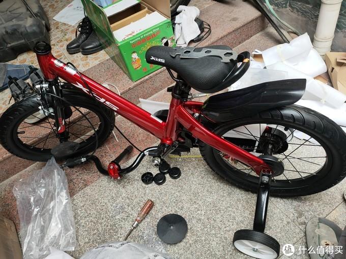 解封后该锻炼了——喜德盛16寸儿童自行车体验