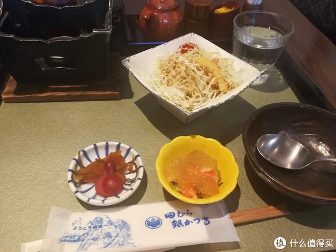 以上是配菜沙拉生菜丝、腌菜、鲜虾仁