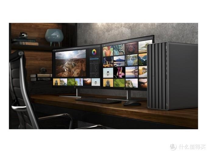 HP 惠普 推出 Envy Desktop TE01 创作者主机,百叶窗进气孔设计