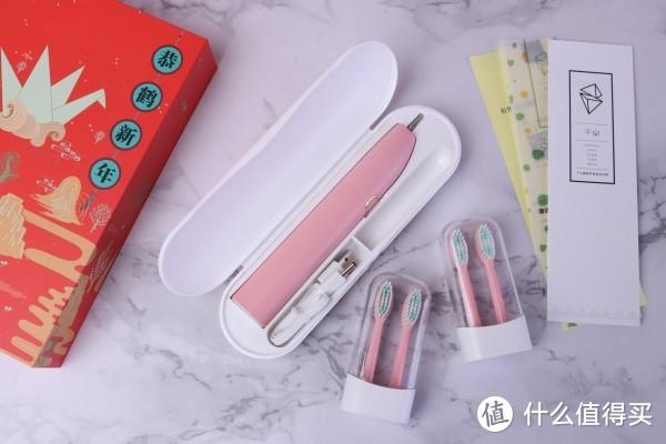 网红都在推的千山Q5电动牙刷新春包装开箱记录