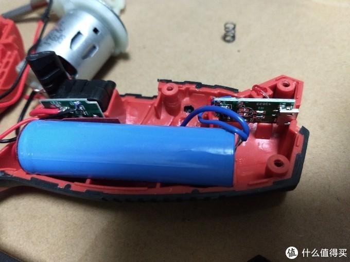 红机电池电源部分