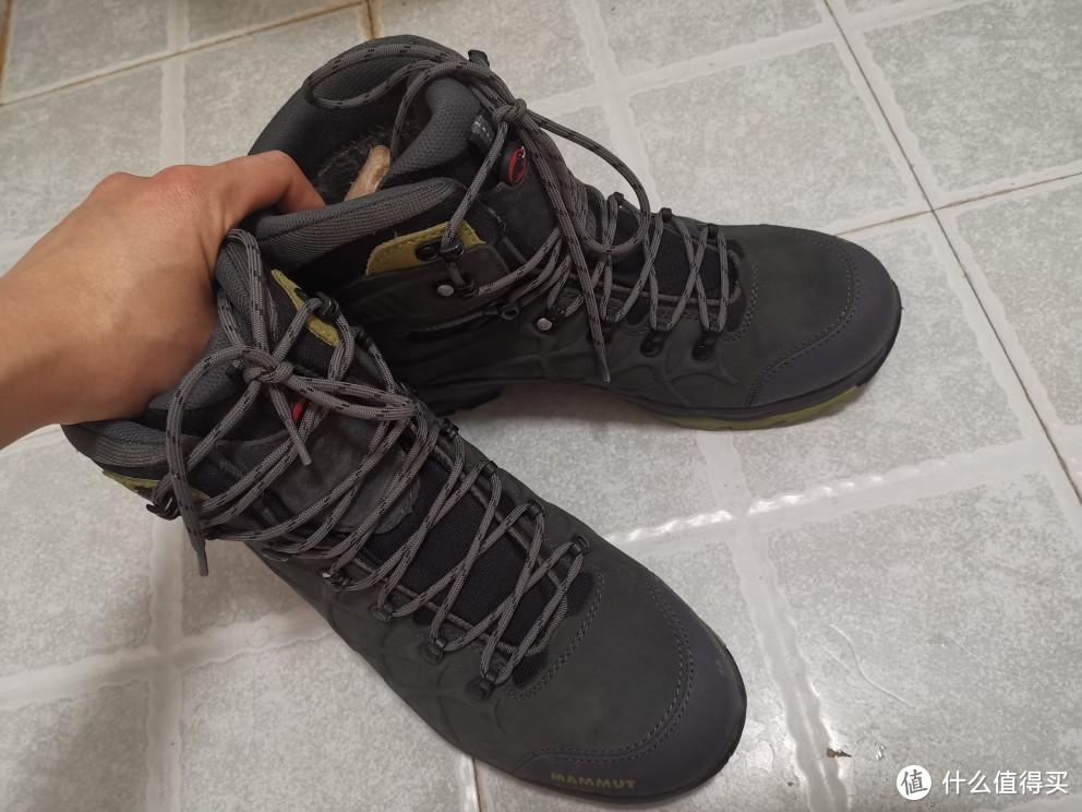 猛犸象不知型号的登山鞋