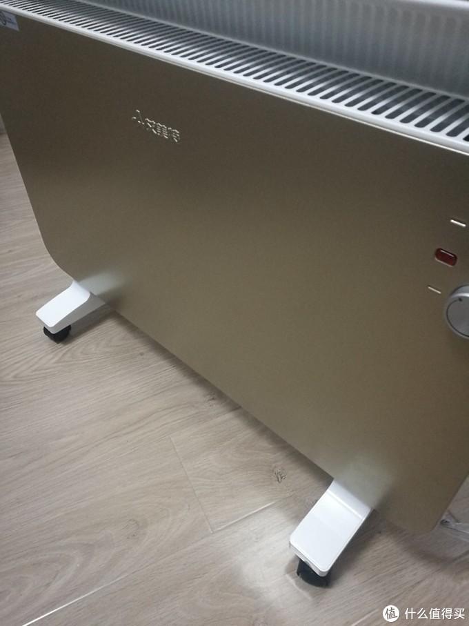 艾美特欧式快热电暖炉开箱