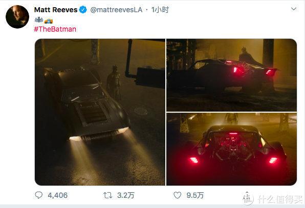 新《蝙蝠侠》再曝独家片场照,导演放出多张蝙蝠车造型,复古又有科技感