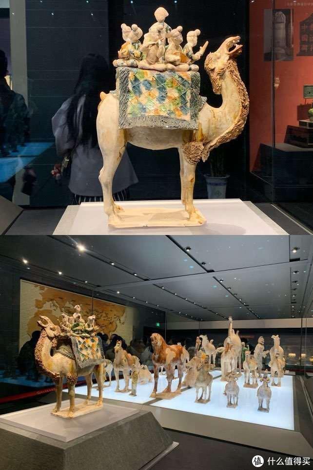 唐三彩载骆驼,喜欢这后面的阵仗