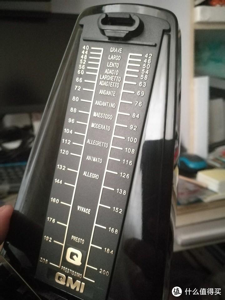 50包邮的QMI机械节拍器开箱