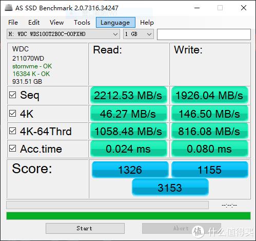 技能树有点歪,但效果竟然还不错?西数SN550 1TB固态硬盘评测