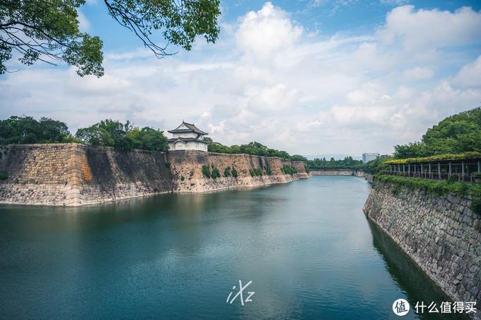 大阪城这护城河才让我相信能护城