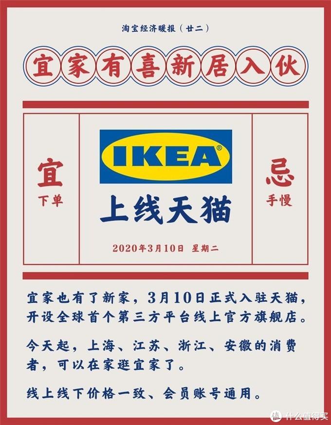 IKEA宜家家居在天猫开店,多省份可以足不出户逛宜家了!