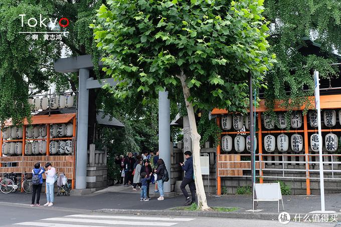 东京无处不在的神社