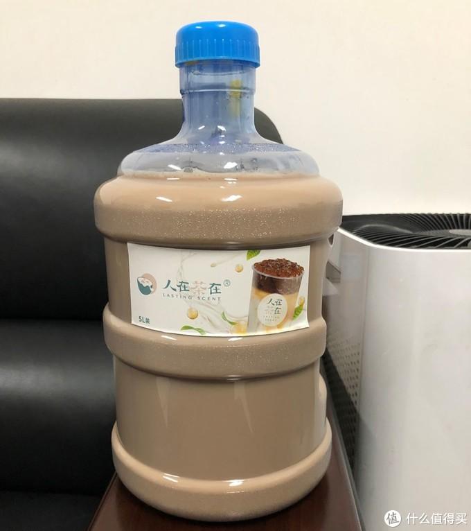 10倍的满足——人在茶在横豪5L奶茶桶