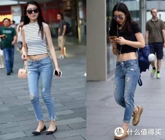 """奔四的女人,穿牛仔裤时要避开""""3个误区"""",不然显腿粗,个还矮"""