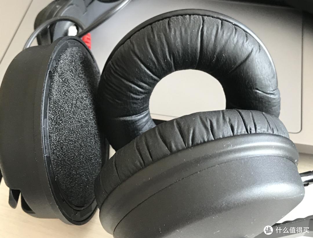 可更换式耳罩,可以非常方便的更换符合自身耳朵的耳罩