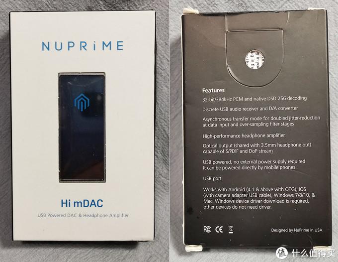 简单至极,NuPrime Hi-mDAC手机解码耳放一体机试听体会