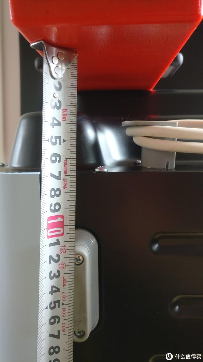 后脚到背部凸出点距离115mm