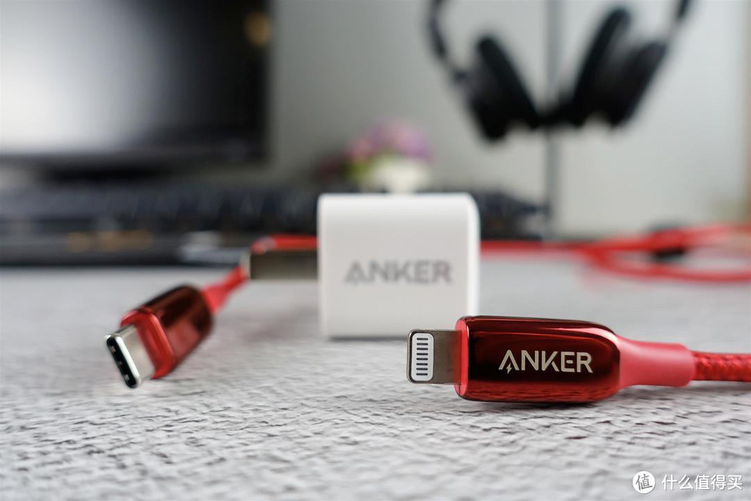 小伙的苹果手机用了Anker快充套装之后,充电速度杠杠的