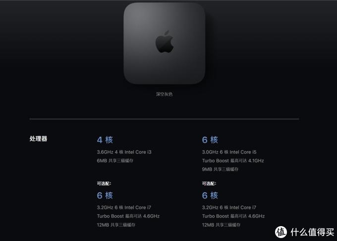 2020款苹果 Mac mini 官网上架,更新了低配版 SSD 容量