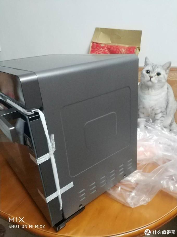 蒸烤箱一体机自家开箱,分享给大家