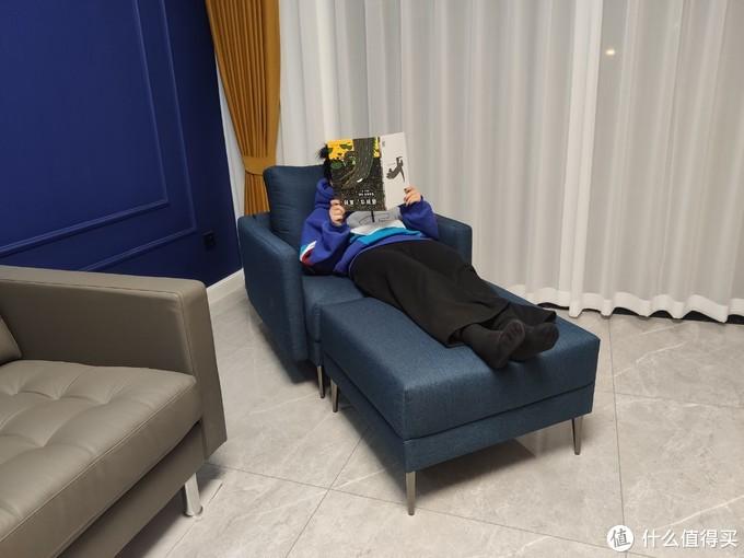 客厅沙发躺选购指南,8H Clean 抗菌时尚单人布艺沙发众筹开箱
