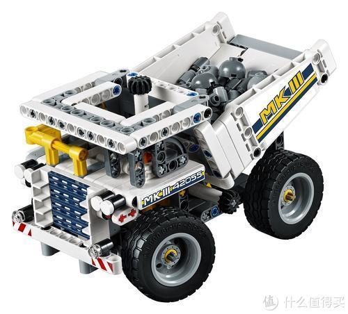 重制42055 挖掘机赠品小弟 重载卡车