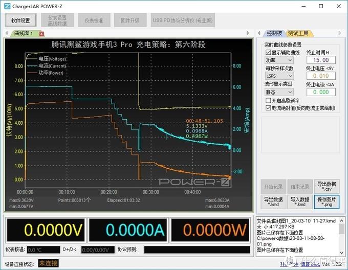 内置65W可变串并联电池组,腾讯黑鲨游戏游戏手机3Pro充电评测