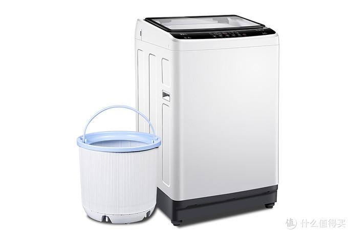 复式双桶,分类洗涤 洗衣机的全新形态带来健康洗衣