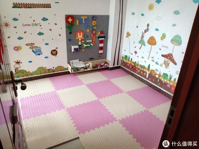 给女儿硬挤出来的玩具房一点一滴布置全过程