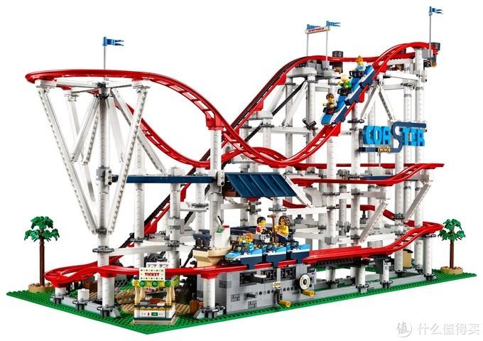 高达160cm细节还原到位!带你看巨型乐高MOC电动过山车!