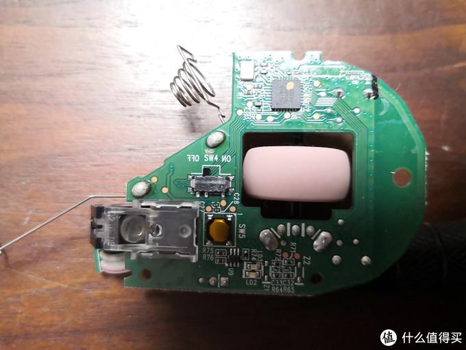图5:鼠标电路板背面