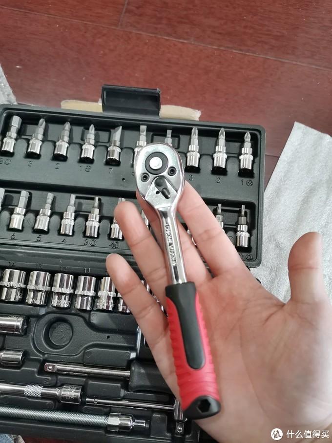 银龙岛套筒棘轮扳手-工具组合套装
