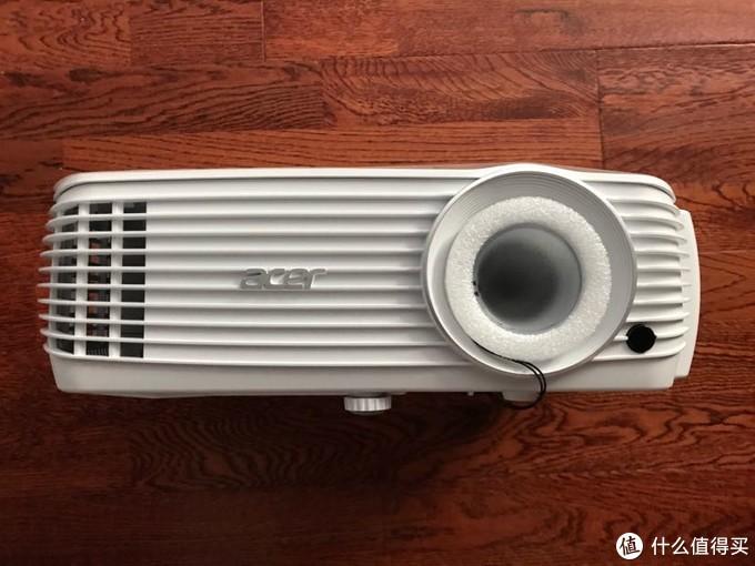 宏碁H6810BD投影机纯开箱